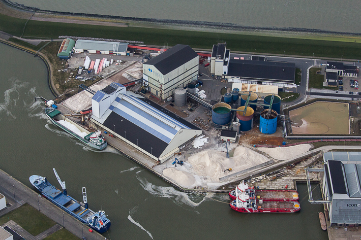 Zoutfabriek Frisia Zout (Esco) in Harlingen